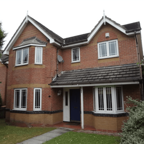 A semi detached property near Sandbanks