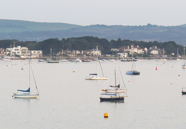 View towards Sandbanks